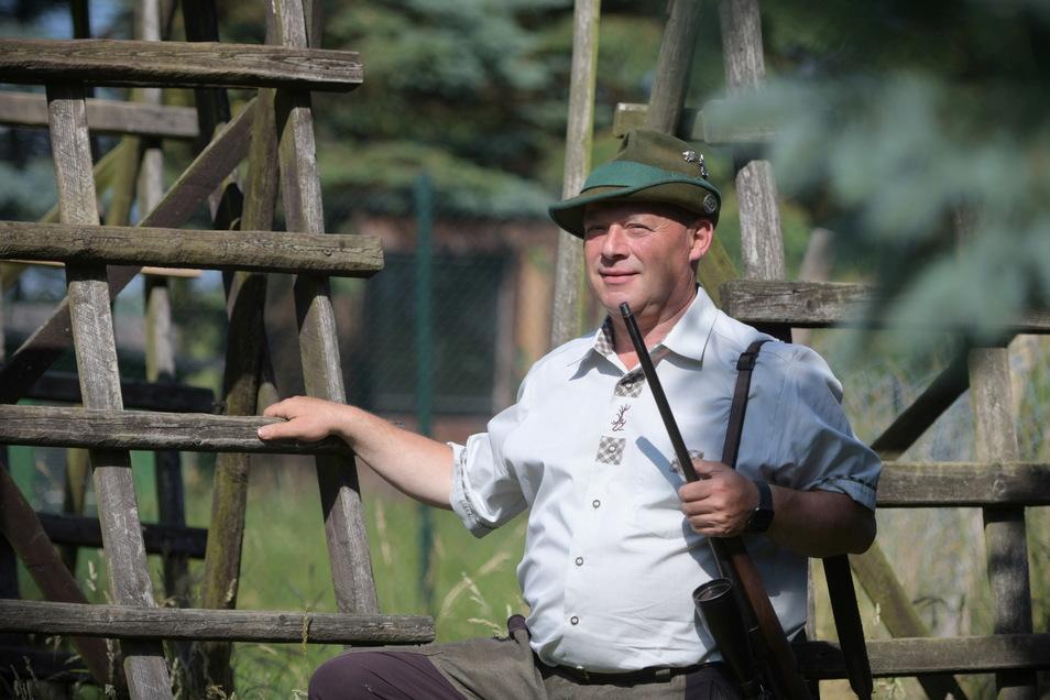 Mathias Kappler ist der neue Vorsitzende des Kreisjagdverbandes Oberlausitz. SZ sprach mit ihm über Wolf, Rehwild und Schweinepest.