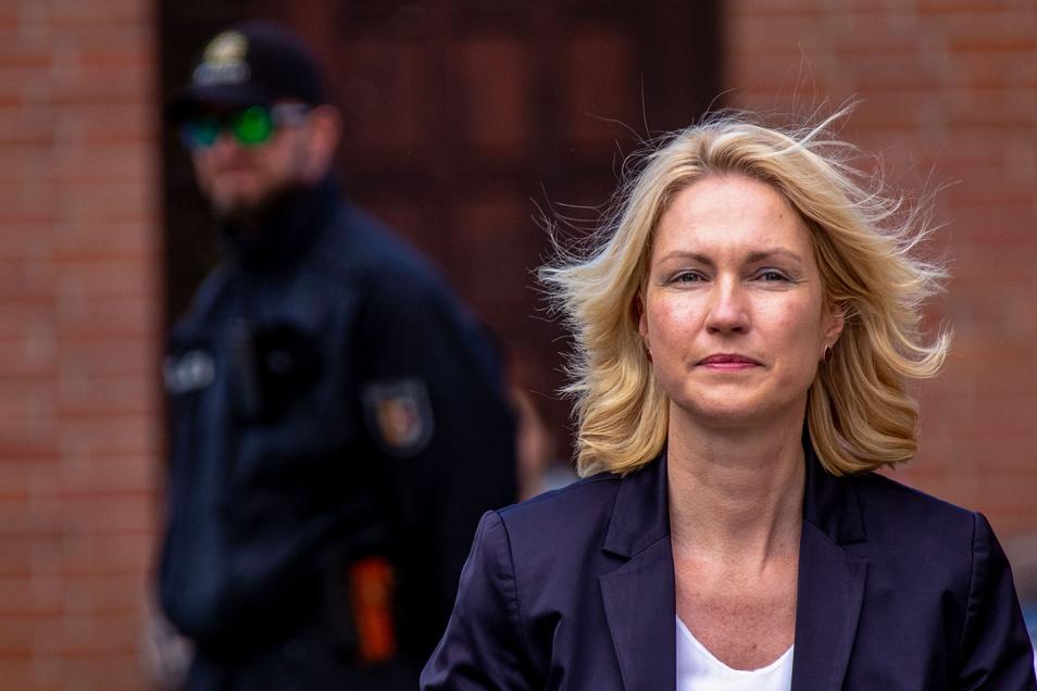 Die kommissarische SPD-Chefin Manuela Schwesig.
