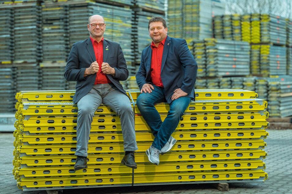 Gerüstbauer wie Walter Stuber und Dirk Eckart sind Hochstapler. Doch die Chefs von Gemeinhardt denken auch an das Gemeinwohl.