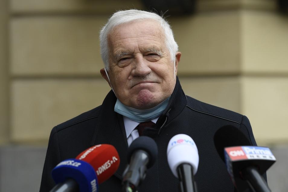 Tschechiens Ex-Präsident Vaclav Klaus könnte bei der Präsidentenwahl in zwei Jahren noch einmal antreten.