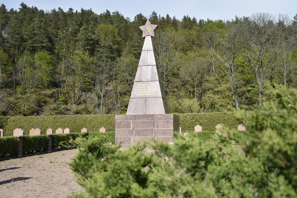 Auf dem sowjetischen Soldatenfriedhof in Dippoldiswalde soll am 8. Mai des Endes der Nazi-Diktatur gedacht werden, wenn auch in anderer Form als ursprünglich geplant.