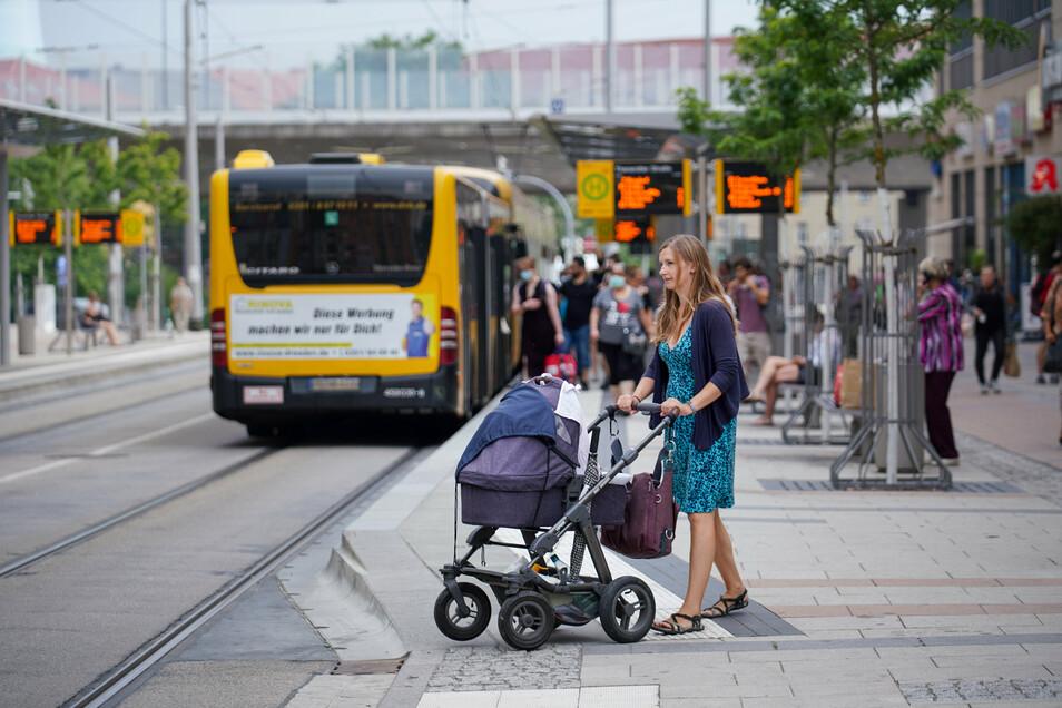 Hier kamen 2017 die meisten Kinder zur Welt: in Löbtau. Auch Melanie Naumann hat dort gelebt, bevor ihre zweite und dritte Tochter zur Welt kamen und eine größere Wohnung nötig wurde.