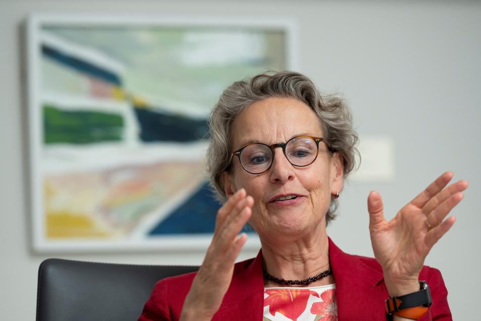 TU-Rektorin Ursula M. Staudinger, hier in ihrem ersten Interview nach der Amtsübernahme im August letzten Jahres.