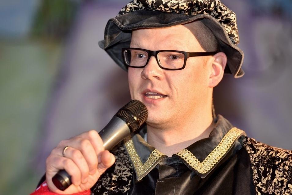 Bürgermeister Markus Hallmann moderierte den Spaßwettbewerb.