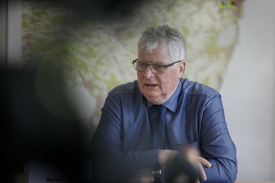 Der Görlitzer Landrat Bernd Lange.