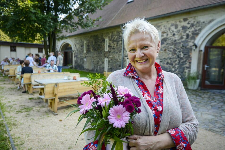 Isolde Iser vom Gut am See in Tauchritz hofft darauf, dass Hochzeitsfeiern bald wieder wie gewohnt, aber unter den AHA-Regeln, möglich sind.