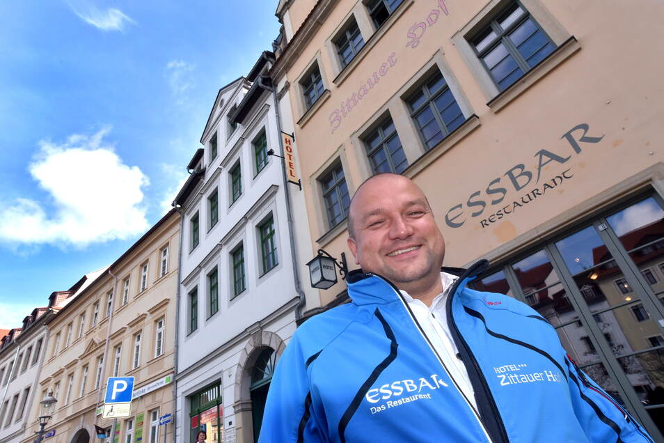 """Gastronom und Hotelier Ronny Überschär ist der alte und neue Chef des Gewerbe- und Tourismusvereins """"Zittau lebendige Stadt""""."""