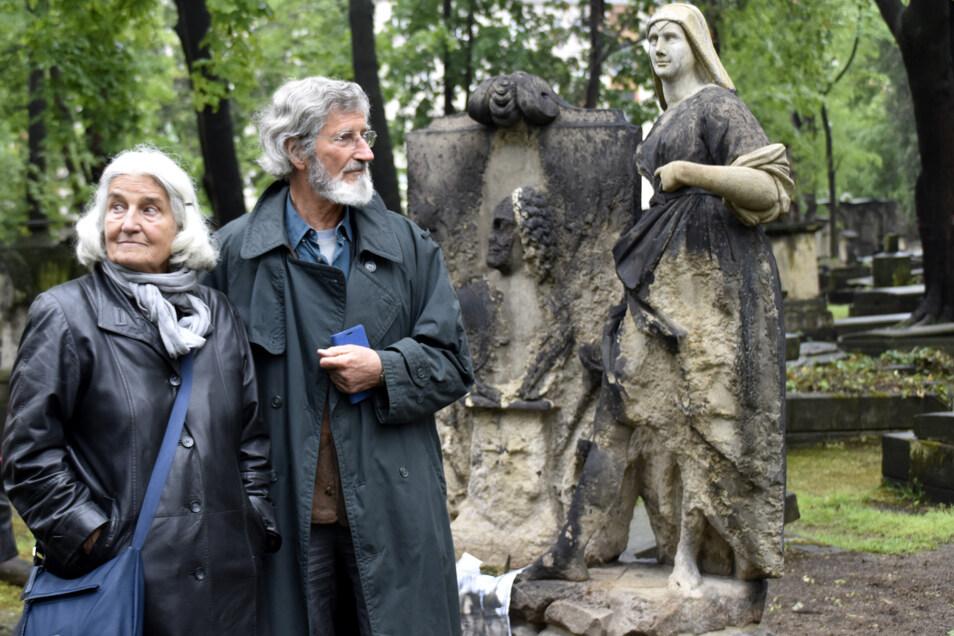 Wieder schön: Uta und Friedrich Seibt ist die Restaurierung zu verdanken.