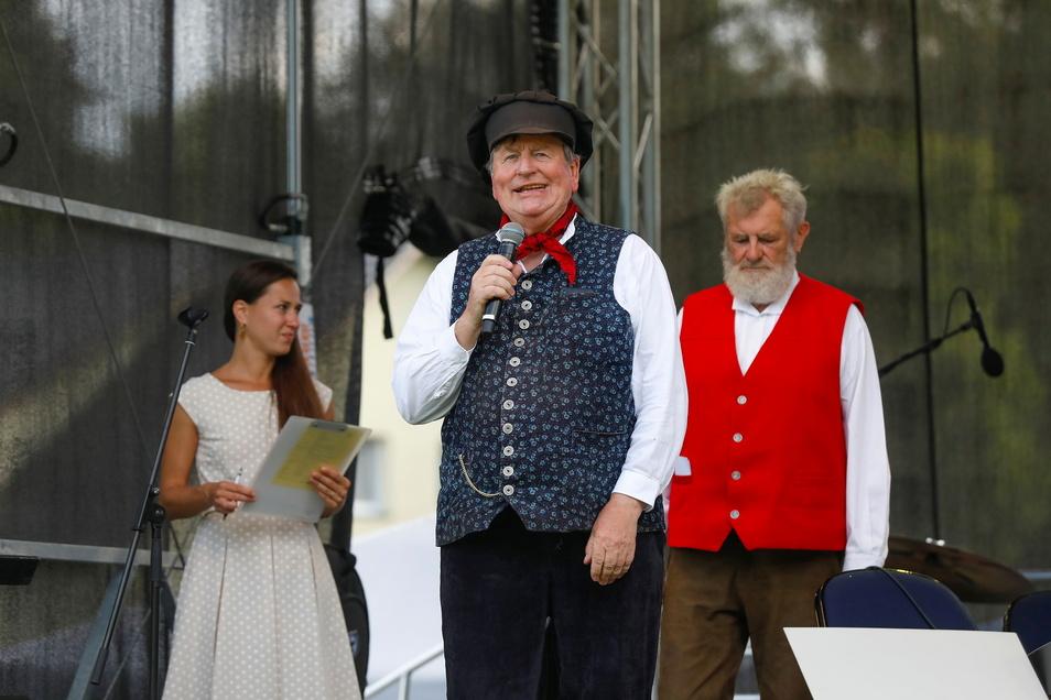 Hans Klecker, hier beim jüngsten Tag der Oberlausitz, setzt sich seit Jahrzehnten für die Region und ihre Traditionen ein.