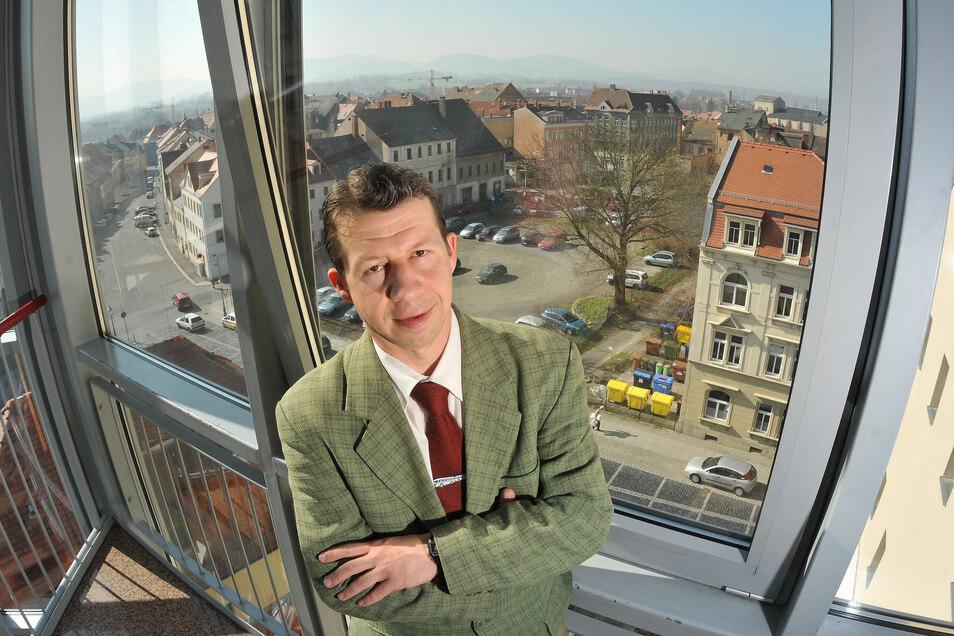 Der Zittauer Stadtrat Matthias Böhm hat seine Wahlempfehlung abgegeben.