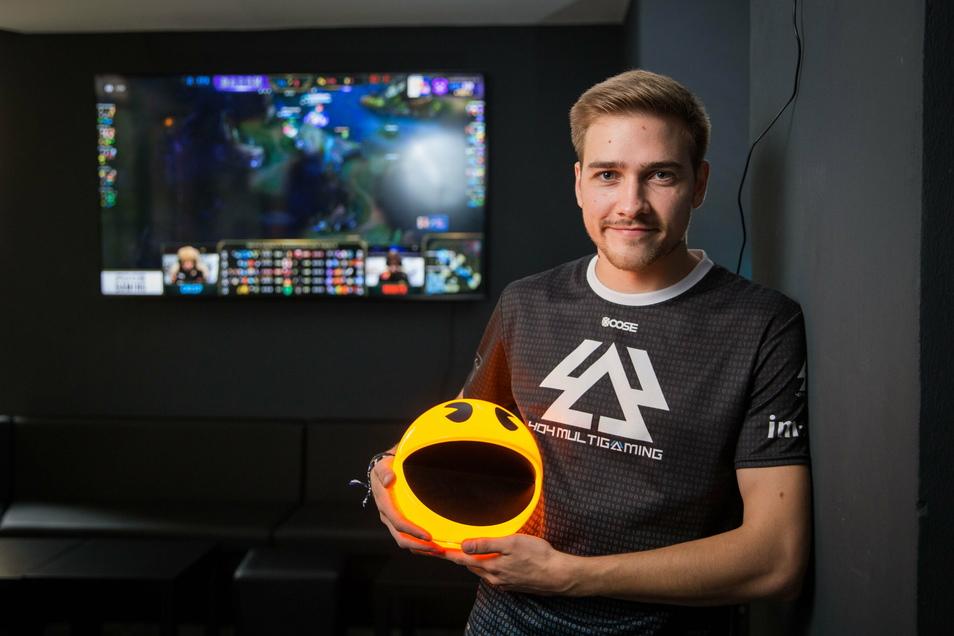 Gamingbar-Mitbetreiber Alexander Schramm: Aus dem Spiel wurde schnell Ernst für das Start-up.