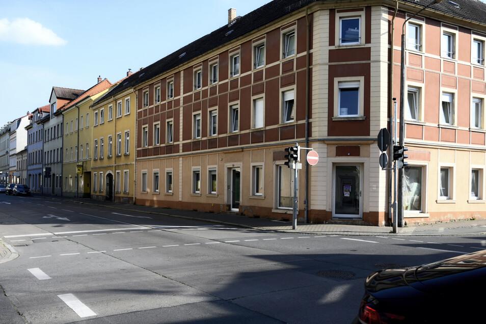 Laut einer Umfrage kritisierten viele der Befragten die hohen Leerstände in der Stadt - wie hier in der Goethestraße.