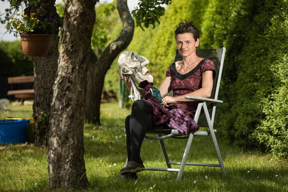 Mit ihrem Puppentheater verdient Bianka Heuser ihren Lebensunterhalt. Doch damit ist es erst einmal vorbei.