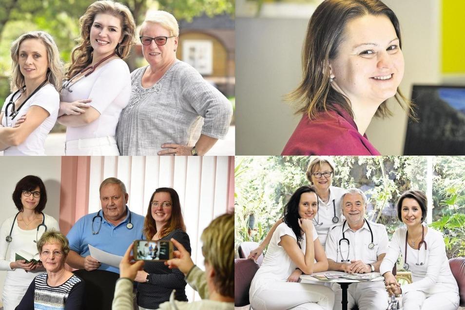 Vier Beispiele aus der Region Löbau-Zittau, bei denen Ärzte eine Praxis übernommen haben oder in einer angestellt werden konnten.