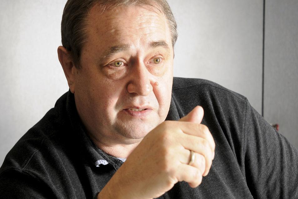 Sozialpädagoge Thomas Proschwitz von der Privaten Arbeitsvermittlung PAV Großenhain antwortete auf die SZ-Fragen.