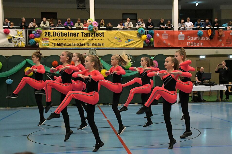 Die Tanzgruppen des WelWel Sport-und Tanzvereins Döbeln hoffen, bald wieder bei Wettkämpfen antreten zu können.
