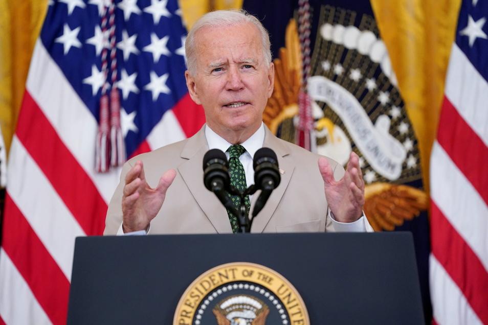 Joe Biden will die Republikaner aus ihrer von Trump verordneten Fundamentalopposition zwingen