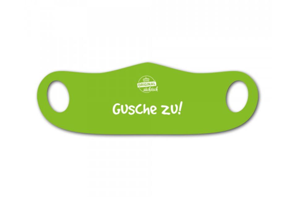 """Mund- und Nasenmaske """"Gusche zu!"""""""