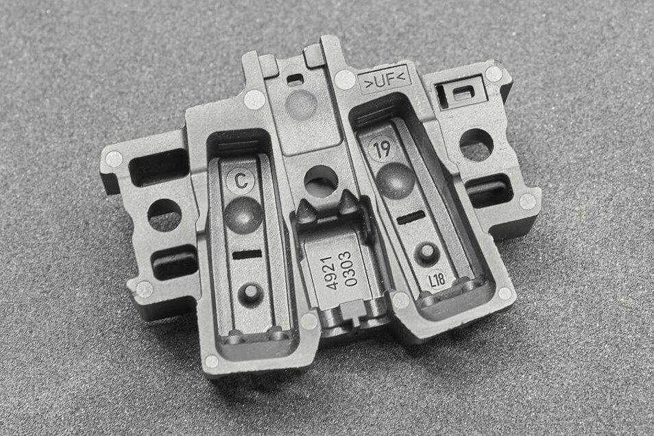 Solche anspruchsvollen Kunststoffteile werden bei Schoplast hergestellt.