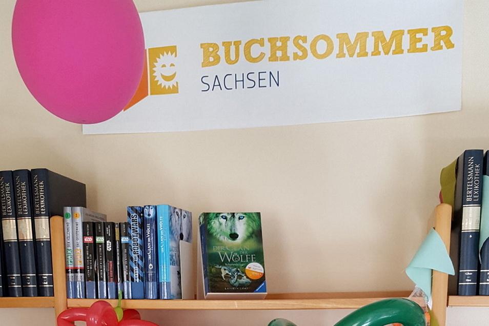 In der Großröhrsdorfer Bibliothek ist jetzt der Buchsommer gestartet.
