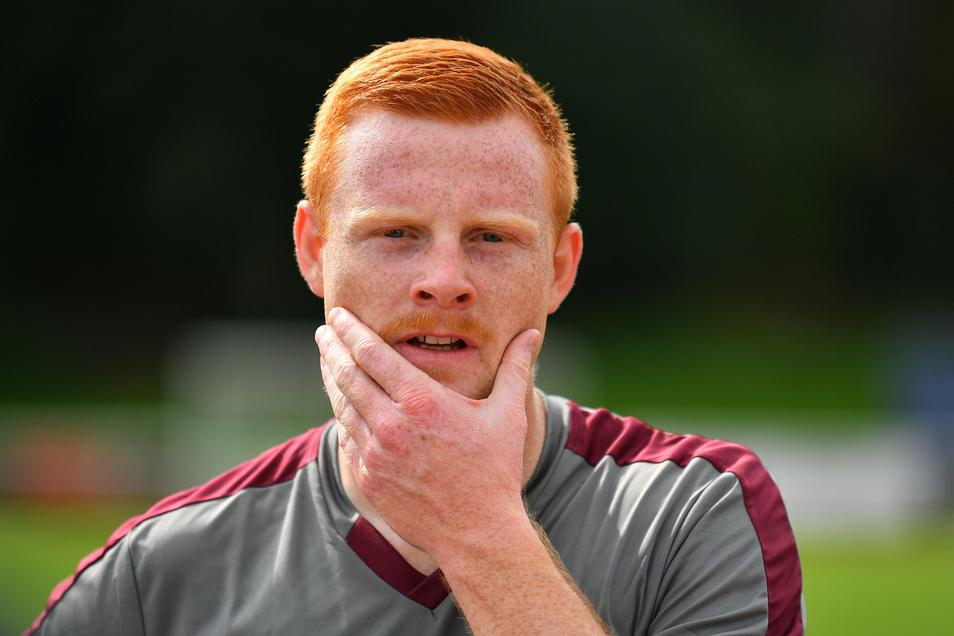 Paul Will kam im Sommer von Bayern München II nach Dresden und hat bei Dynamo in kurzer Zeit schon viel erlebt.