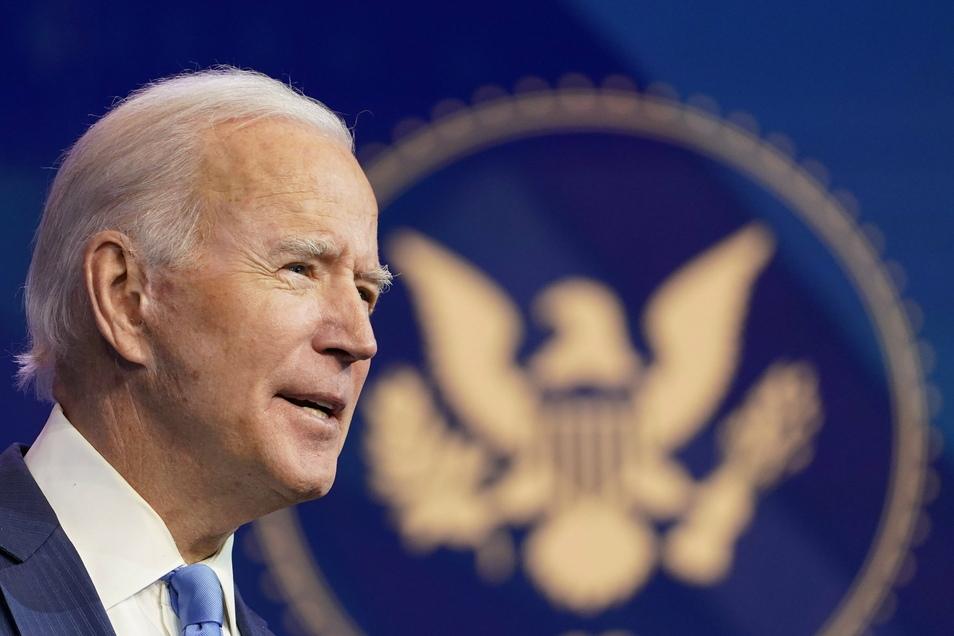 54 Prozent der Befragten bewerteten die Amtsführung von Biden positiv.