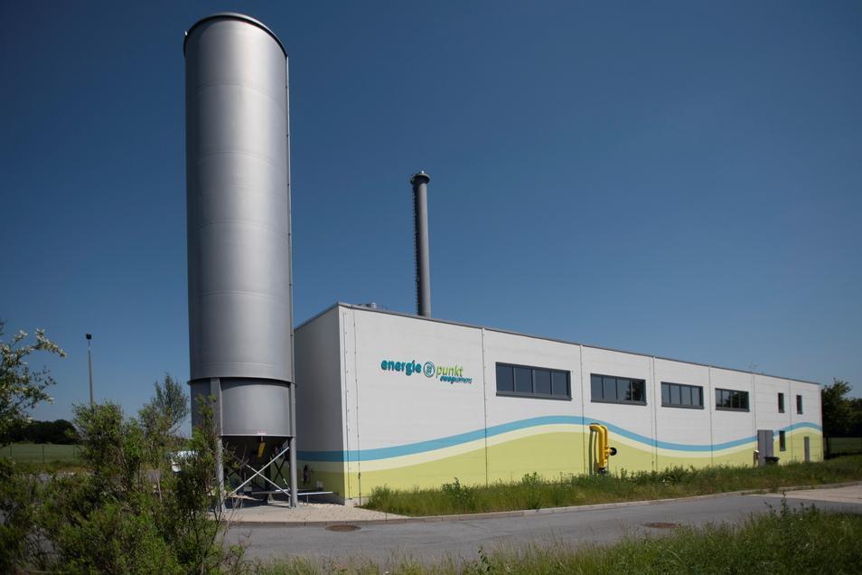 Der Energieversorger Ewag Kamenz hat seine Heizwerke, wie dieses auf der Christian-Weißmantel- Straße, umgebaut und modernisiert.