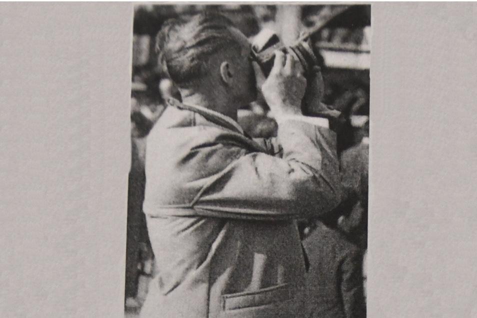 Ohne seinen Fotoapparat ging Siegfried Thomas nicht aus dem Haus.