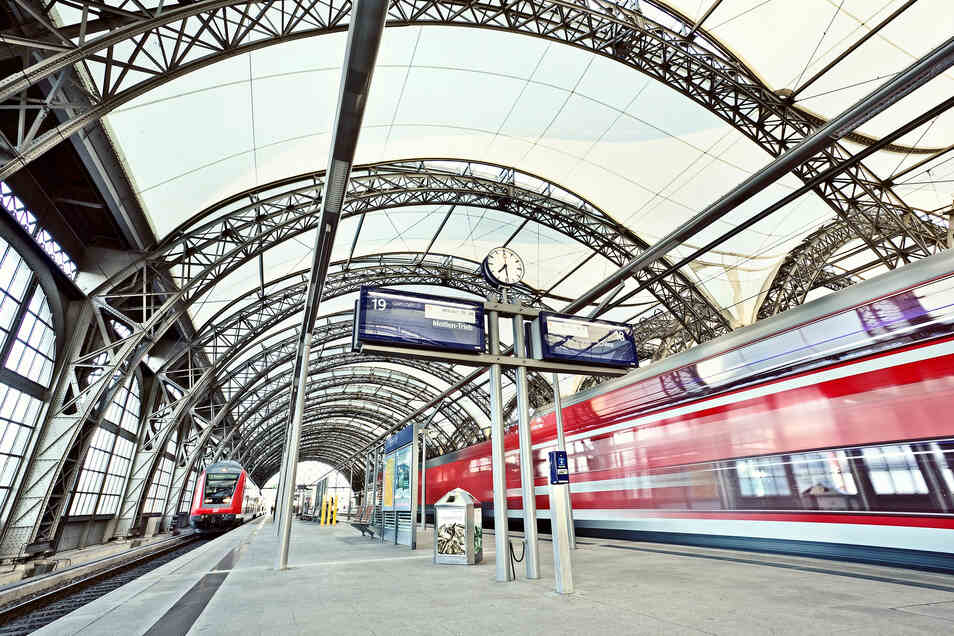 Die S-Bahnen der Linie S2 fahren ab Montag wieder planmäßig und entlasten damit die S1.