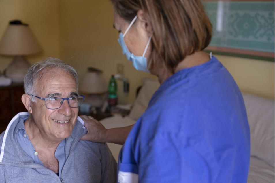 Auch ein ambulanter Pflegedienst wird von der Arbeiterwohlfahrt Lausitz angeboten.