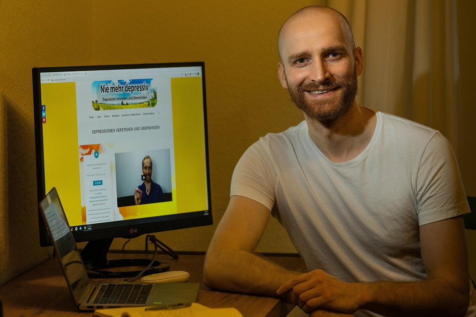 Arne Tempel ist Online-Coach für Menschen mit Depressionen.