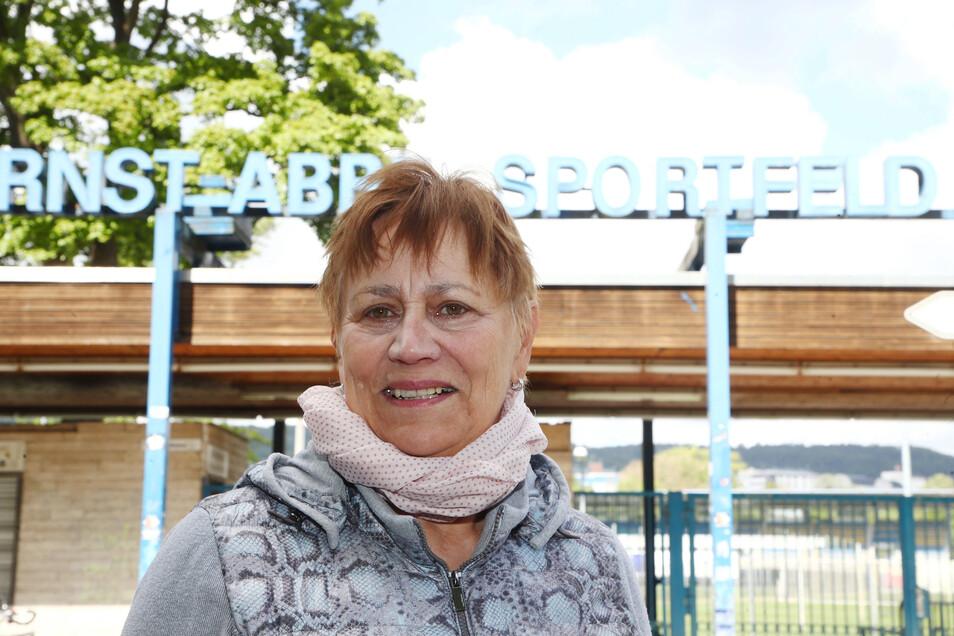 Die ehemalige Leichtathletin Renate Stecher heute.