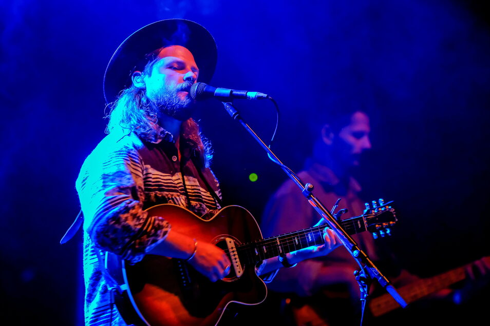 """Ian Hooper, Sänger der Band """"Mighty Oaks"""""""