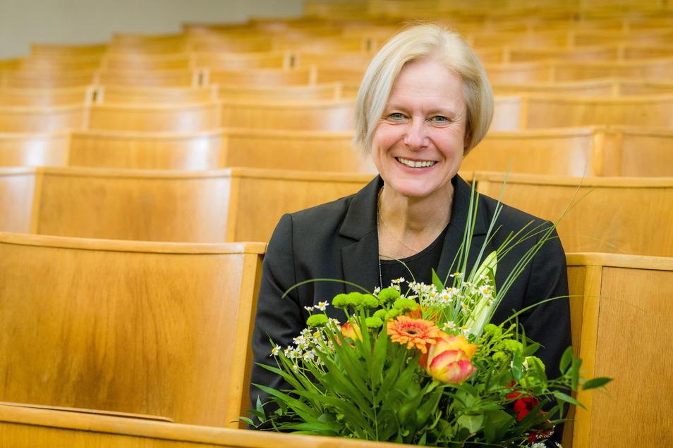 Mehr Studentinnen, mehr Digitalisierung, mehr Forschung. Für die nächsten Jahre hat sich Katrin Salchert als neue Rektorin der HTW Dresden viel vorgenommen.