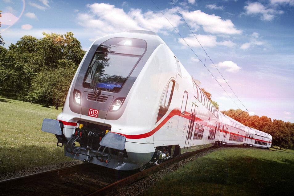 Auch mit diesen Intercity-Doppelstockzügen für die Deutsche Bahn gab es zuletzt Probleme.