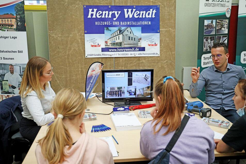 Ein Heimspiel hatte natürlich die Gröditzer Sanitärfirma Henry Wendt.