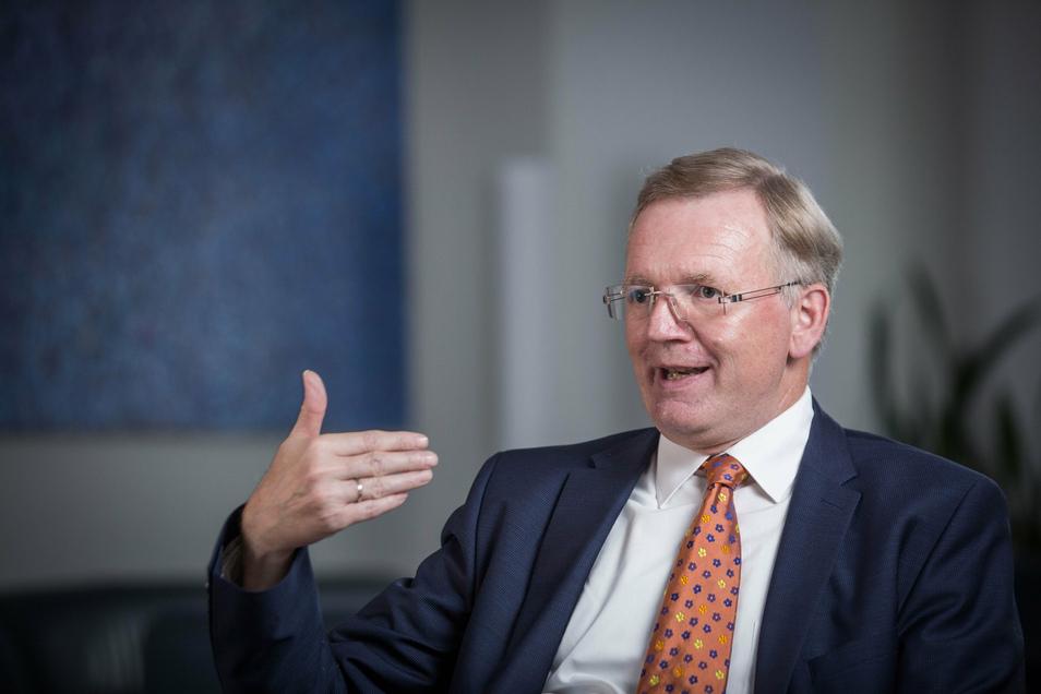 Ordnungsbürgermeister Detlef Sittel (CDU) führt als OB-Stellvertreter derzeit die Geschäfte im Dresdner Rathaus.