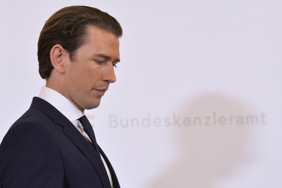 Sebastian Kurz und seine Regierung wurden durch ein Misstrauensvotum gestürzt.