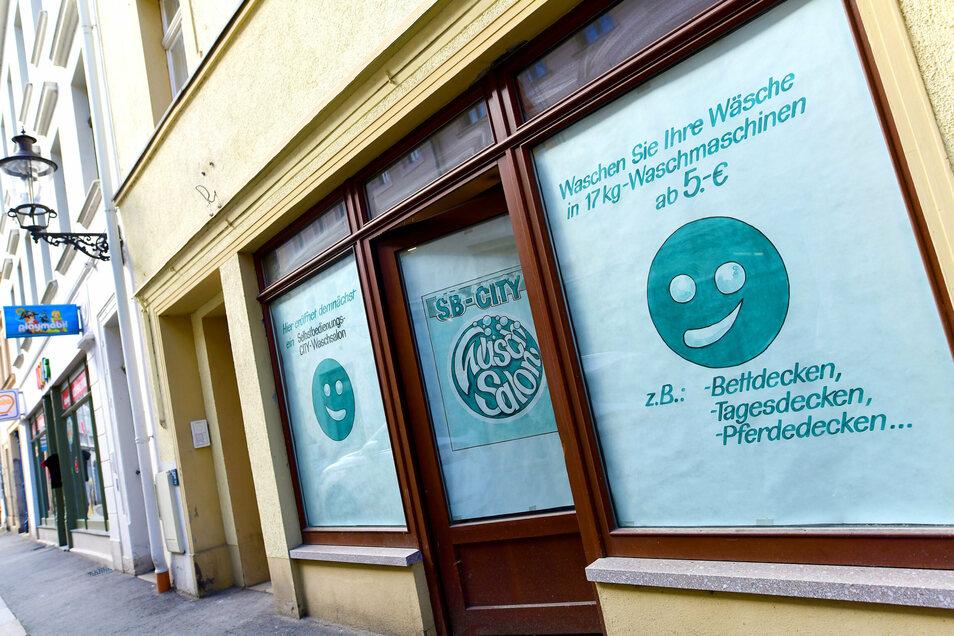 In der Reichenberger Straße 32 in Zittau eröffnet demnächst der SB-City-Waschsalon.