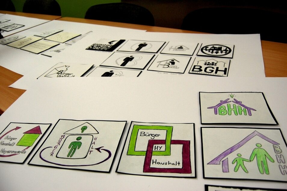 Hoyerswerdaer Schüler haben Signet-Entwürfe eingereicht.