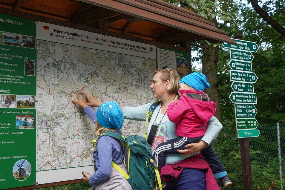 Der zehnte Sächsische Wandertag bietet Touren speziell für Familien an.