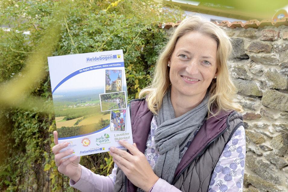 Susanne Dannenberg ist eine der Regionalmanagerinnen beim Dresdner Heidebogen.
