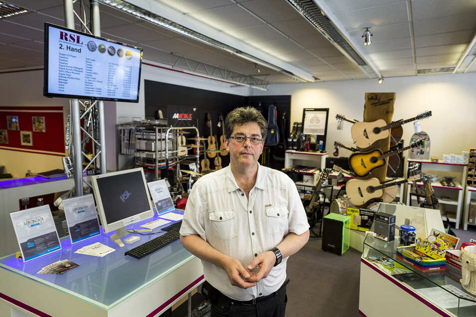 Frank Reimann beschallt derzeit mit seinem Veranstaltungs- und Technik-Service kaum Veranstaltungen. Langweilig ist ihm dennoch nicht.