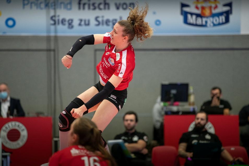 Maja Storck machte in Stuttgart 34 Punkte für den DSC, zum Sieg reichte der starke Auftritt der Schweizer Nationalspielerin aber nicht.