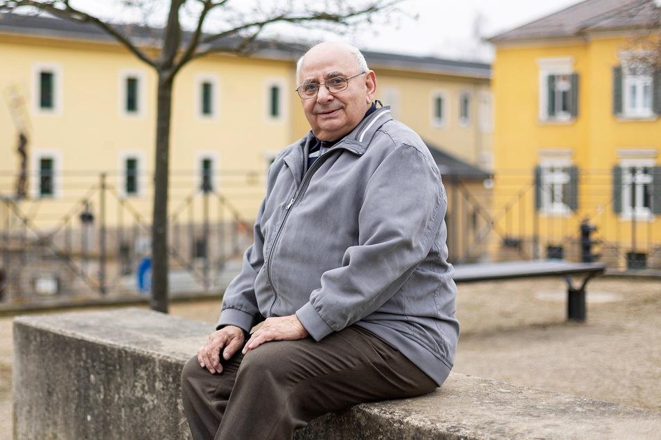Horst Lorenz lebt nicht nur gern in Rabenau, sondern engagiert sich auch seit vielen Jahren ehrenamtlich in der Stadt.